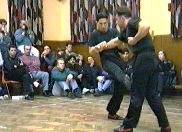 Wing Chun Skills demonstrated by UK Wing Chun Assoc. student, the late Bobby Beach.