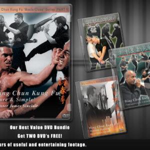 Wing Chun Tutorials DVD Bundle