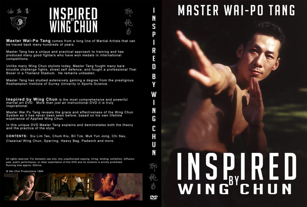 Inspired By Wing Chun. A beautiful crafted film now available on DVD.