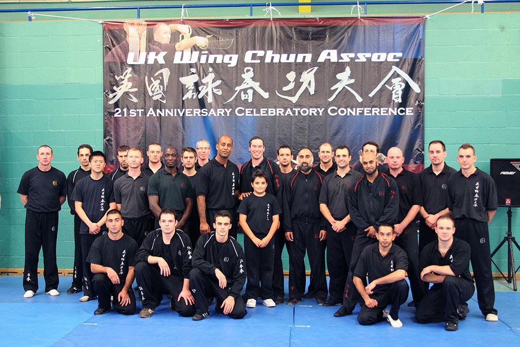 The UK Wing Chun Assoc demonstration team