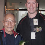 Gradmaster Ip Chun was very pleased to see James Sinclair. James was personally invited to the VTAA 2nd World Conference in Hong Kong & Foshan in 2005. James demonstrated and taught in both locations.