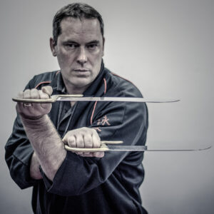 The Baart Cham Do or Eight Cutting Knives of Wing Chun as demonstrated here by Master James Sinclair. Used to slash at the joints of an opponent.