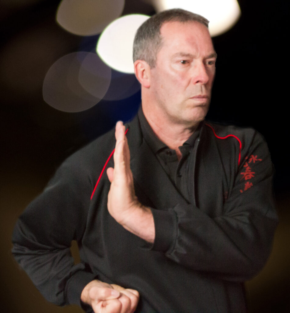 James Sinclair demonstrates the Wing Chun Paak Sau from the Siu Nim Tao