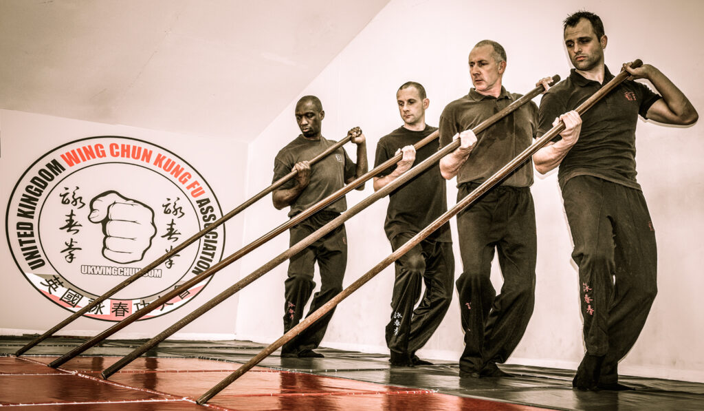 Wing Chun Pole training forms an essential part of the UK Wing Chun Assoc. syllabus.