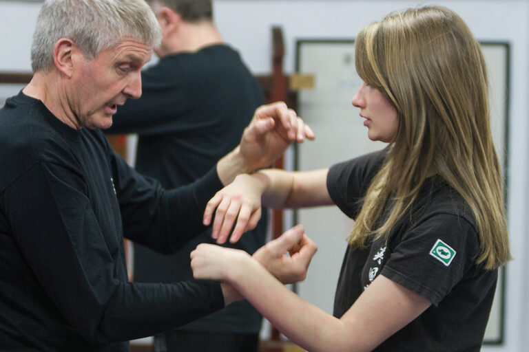 Steve Hunt is a popular UK Wing Chun Assoc. student and was Awarded the Studnet of the Year Trophy for 2016