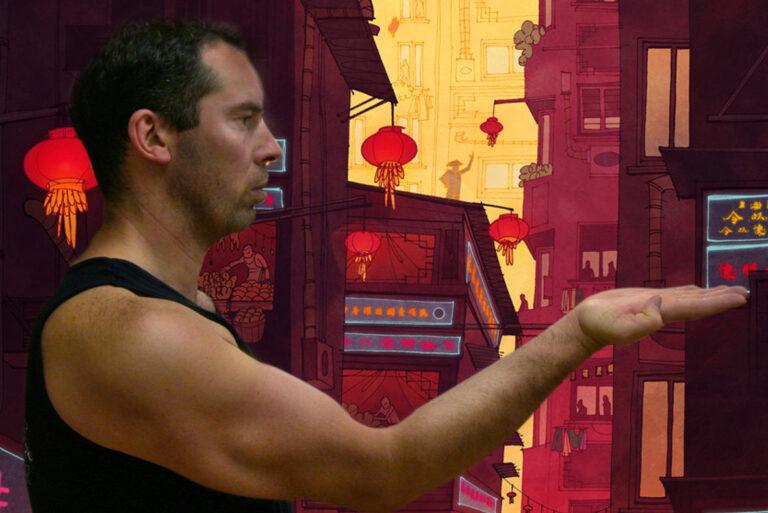 James Sinclar performs the Tahn Sau from the Wing Chun Kung Fu form Siu Nim Tao