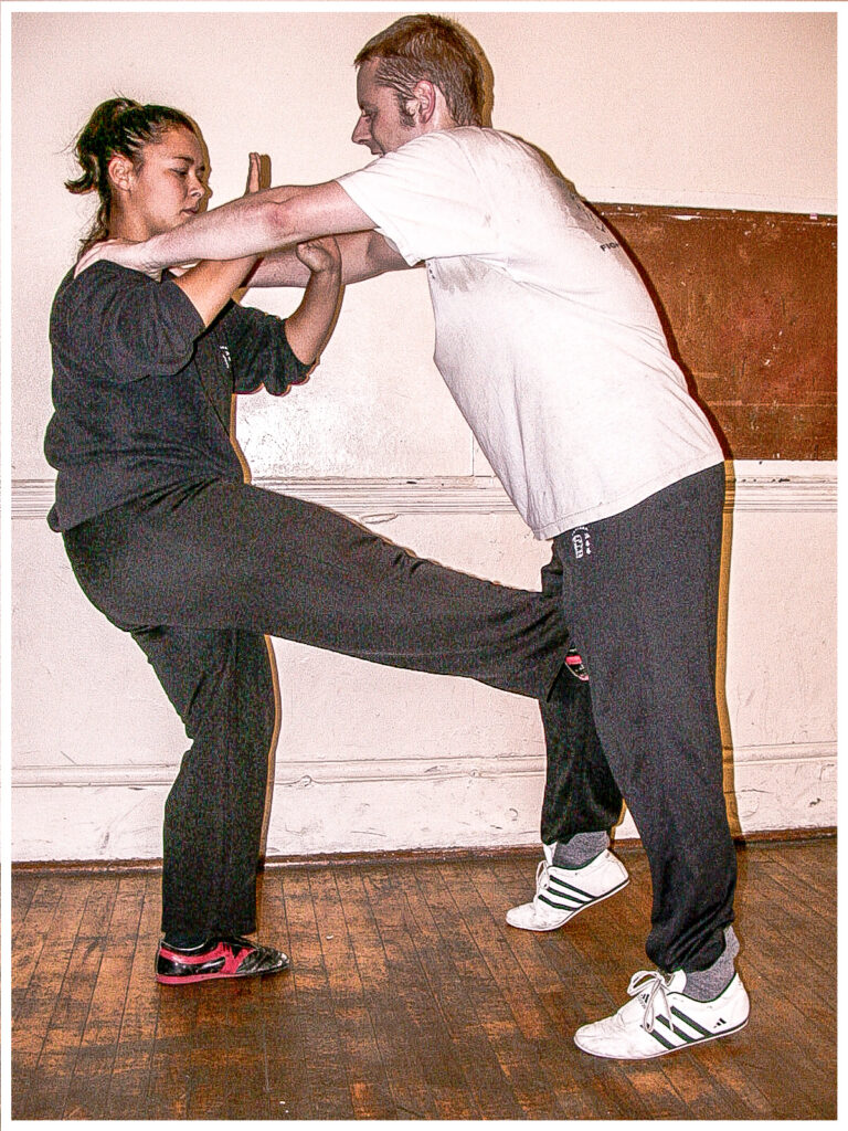Wing Chun Lift Kick. Kick Where it Hurts.