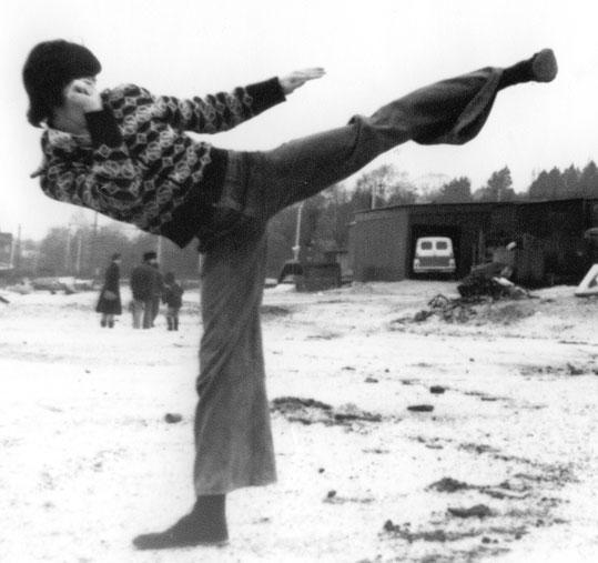 Wing Chun Master James Sinclair circa 1977.