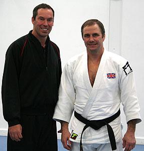 World Class Judoka Brian Adams and James Sinclair