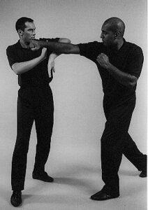 Wing Chun Wooden Dummy Bong Sau