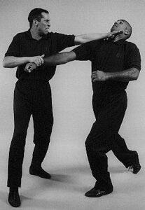 Wing Chun Wooden Dummy Throat Cut