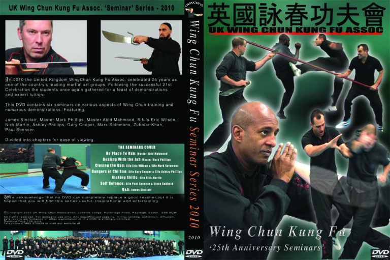 The UK Wing Chun Kung Fu Assoc. celebrated their 25th Anniversary in 2010 with a series of seminars and MasterClasses. In their great DVD yo can enjoy great teachers and demonstrations.