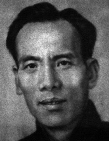 A rare photo of Wing Chun Grandmaster Chan Wah Shun