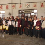 Ching Woo School Foshan China in 2005. Quite a few well known Sifu's are in tis line up. maybe you even see your teacher?