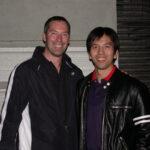 2005 Hong Kong. James Sinclair with American Wing Chun Sifu Dac Lam