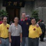 Fung Man Sifu with Albert Ma and James Sinclair