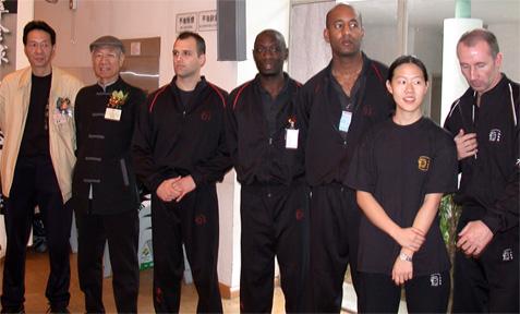 Master Sam Kwok, Master Choi Son Tin , Nick Martin Sifu, Eric Wilson Sifu, Mark Phillips Sifu , Mandy Lam and Gary Cooper Sifu