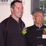 James Sinclair and Grandmaster Chu Shong Tin