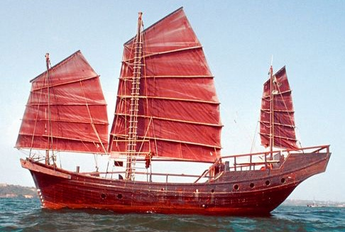 The Red Junk Opera Troupe travelled on something simmer to this. Is the Wing Chun history tied to these vessels in any way?