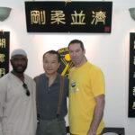 3 Amigos! Master Abdul Malik, Grandmaster Wan Kam Leung and James Sinclair