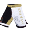 Wing Chun Shorts with hand brush caligraphy in Bronze and White. Available to everyone.