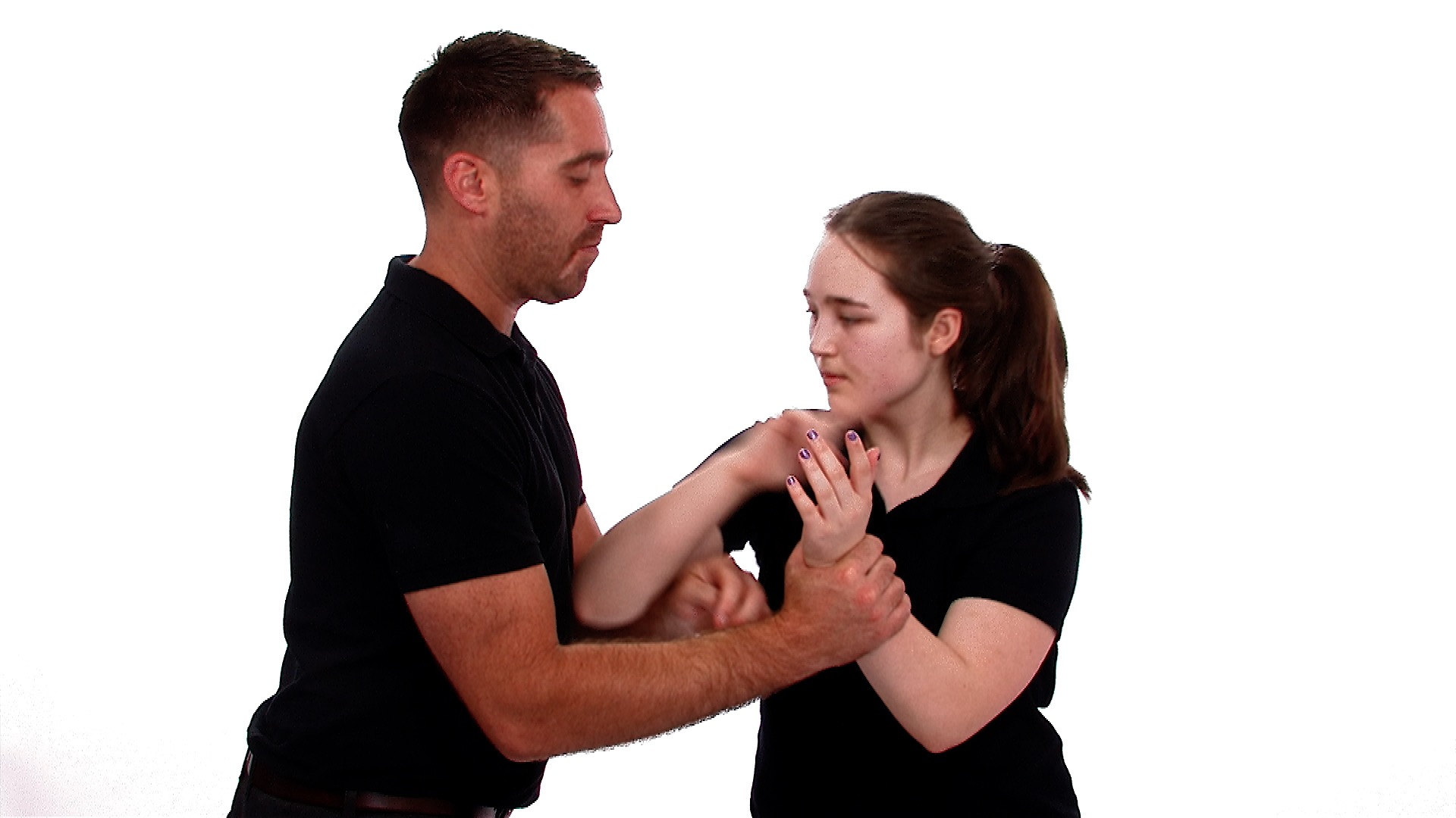 women's self defence using the elbow