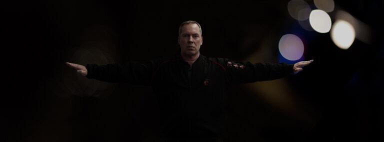 Wing Chun Teacher James Sinclair demonstrates Fak Sau