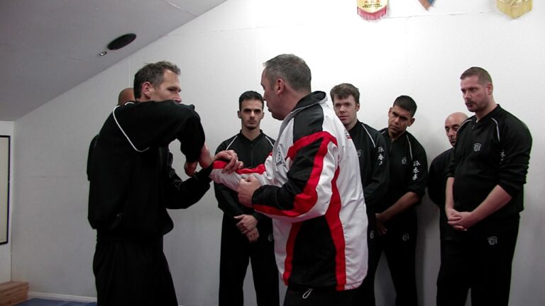 Chi Sau hels to develop the skills to destroy elbow strikes.