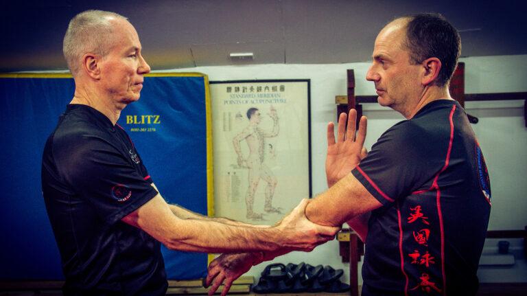 UKWCKFA Wing Chun Kung Fu Cham Kiu Sheung Laan Sau