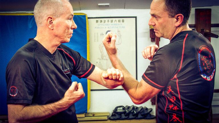 UKWCKFA Wing Chun Kung Fu Cham Kiu Laan Sau Incorrect