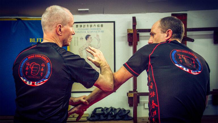 UKWCKFA Wing Chun Kung Fu Cham Kiu Laan Sau