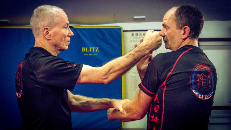 UKWCKFA Wing Chun Kung Fu Cham Kiu Laap Sau