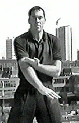 Wing Chun Teacher James Sinclair demonstrates Tut Sau