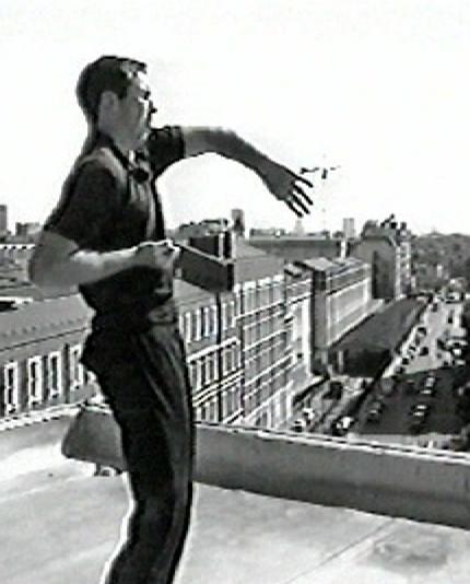 Wing Chun Teacher James Sinclair demonstrates Bong Sau