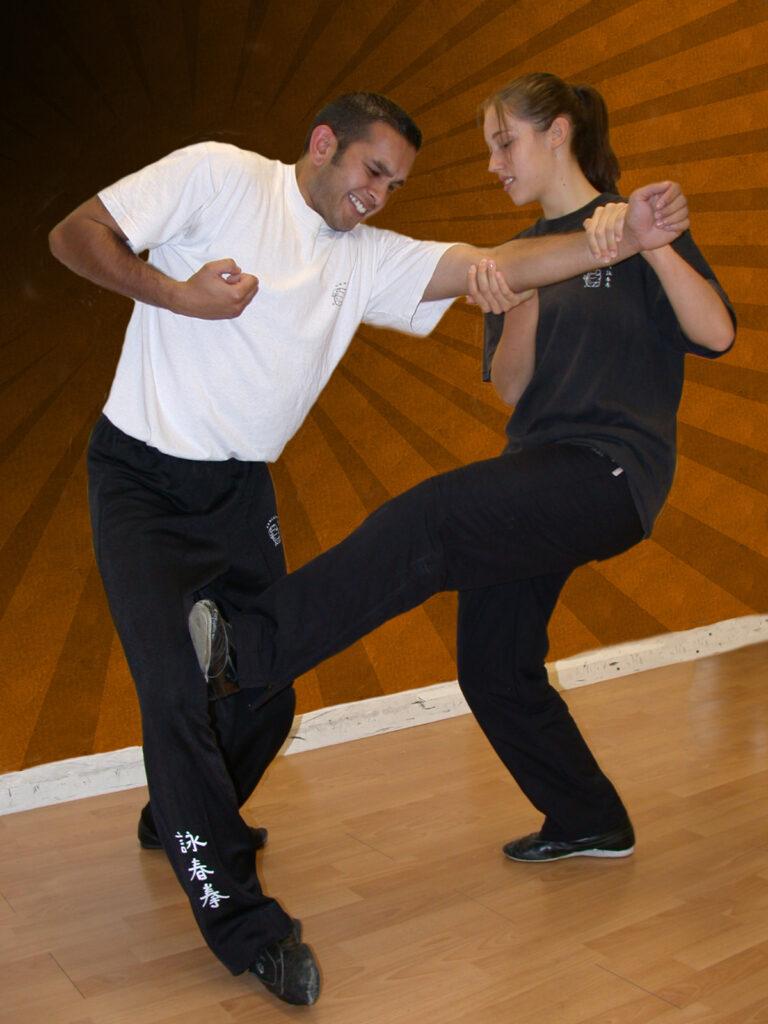 Low Kick to leg self defence