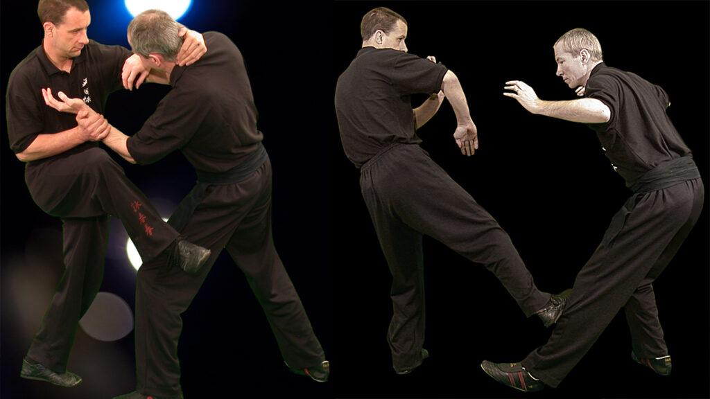 Wing Chun Kung Fu Low Side Kick. Master Ashley Phillips