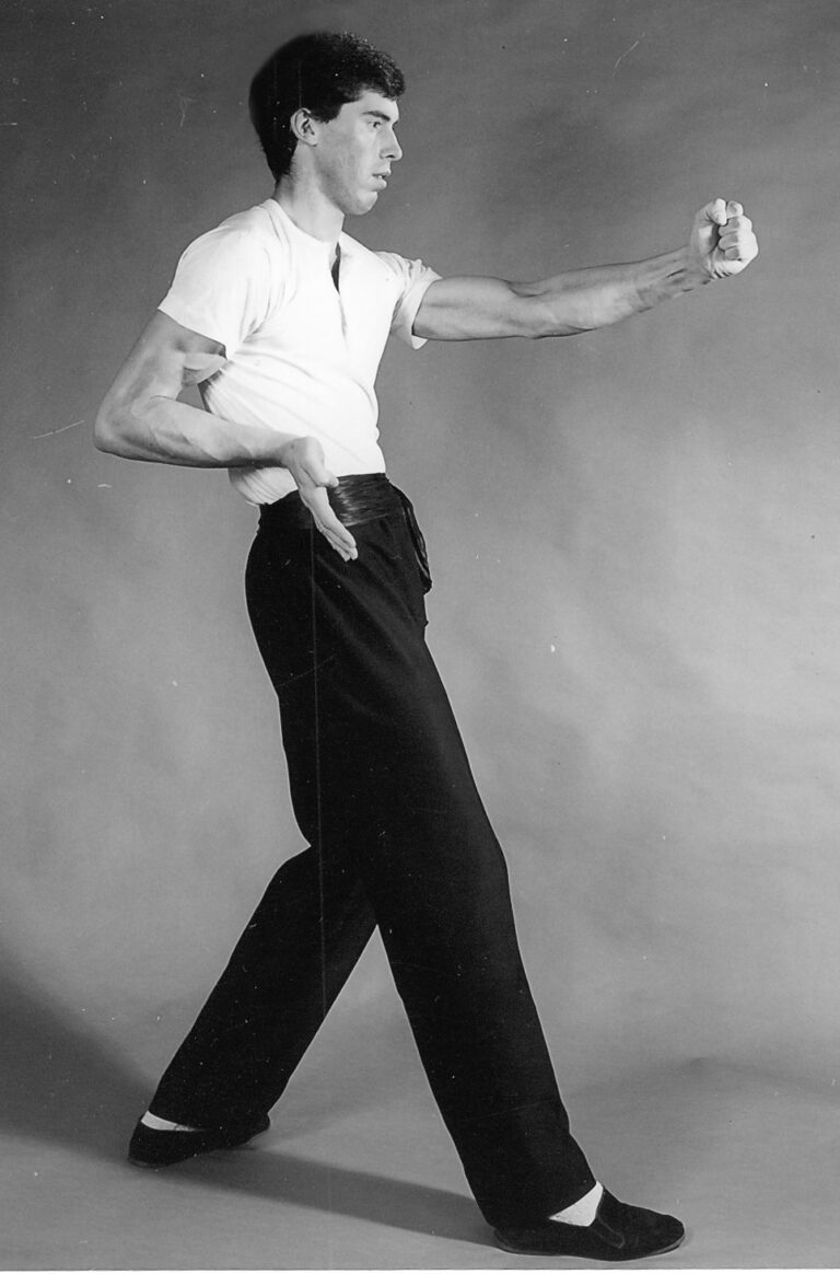 James Sinclair performs the Wing Chun Gwat Sau circa 1982
