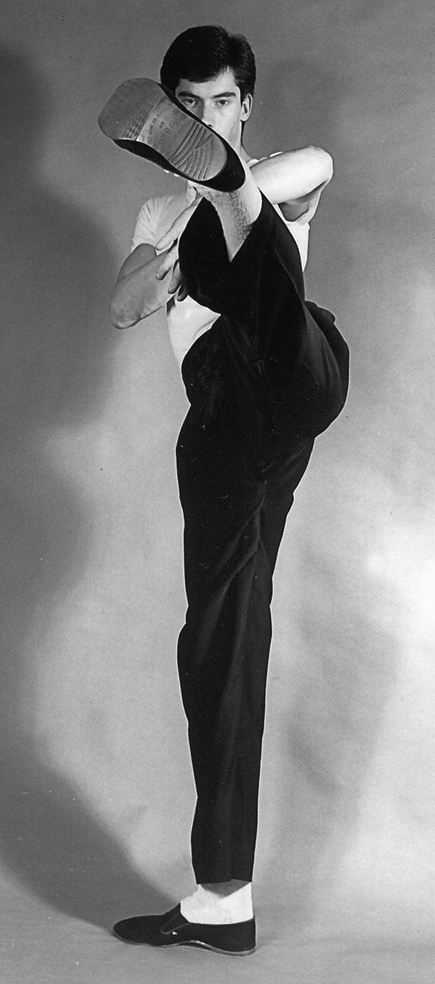 Wing Chun teacher James Sinclair 1982