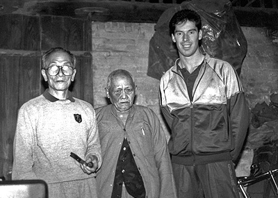 In 1989 James Sinclair visited Hong Kong na d China s a guest of Grandmaster Ip Chun. He met with a number of Wing Chun master including Pan Naam.