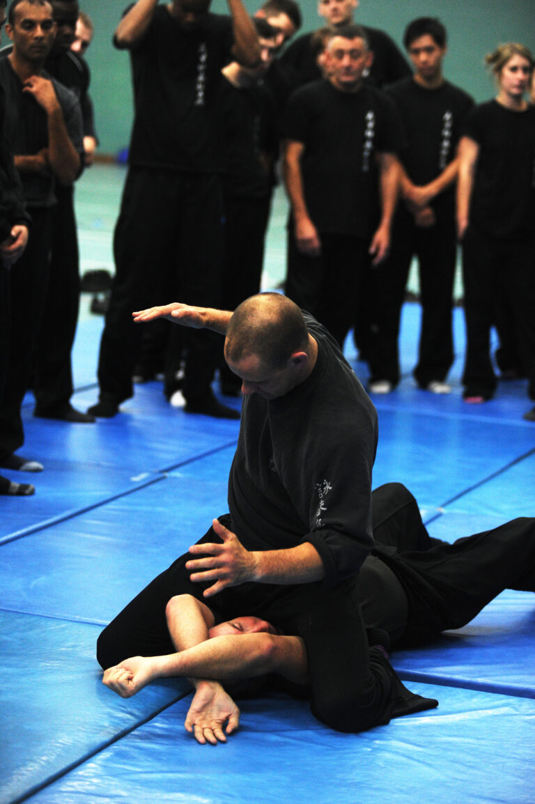 At the UKWCKFA 25th Sifu Ashley Phillips and Sifu gary Cooper gave a great insight into ground fighting. and Gary