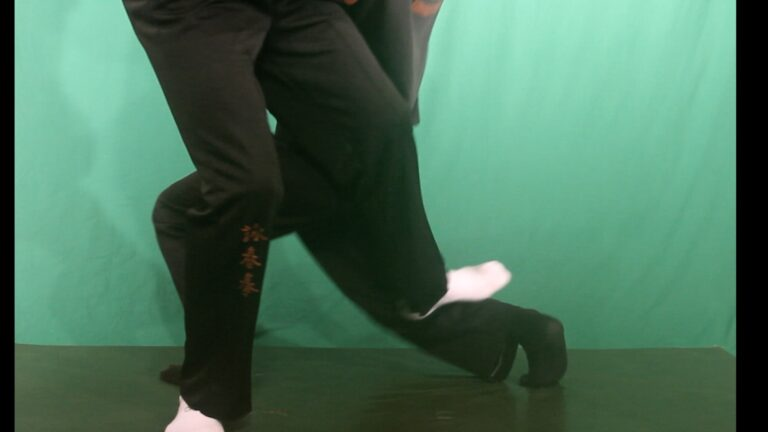 Wing Chun Chi Gerk is a great way to learn how to kick at close range.
