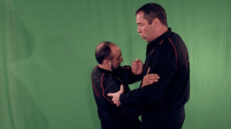 Wing Chun Chi Gerk is a great way to learn how to sweep at close range.