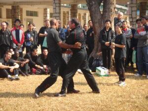 James Sinclair teaches at the World Ving Tsun Conference 2005 Hong Kong