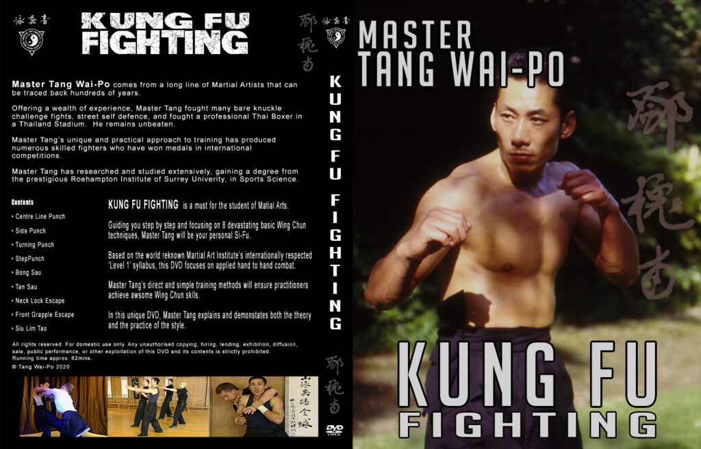 Master Tang Wai Po: Kung Fu Fighting. Cover