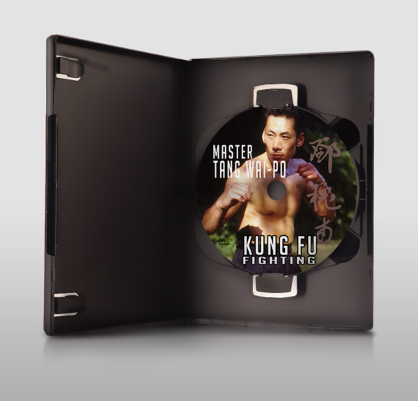 Master Tang Wai Po Kung Fu Fighting DVD in case